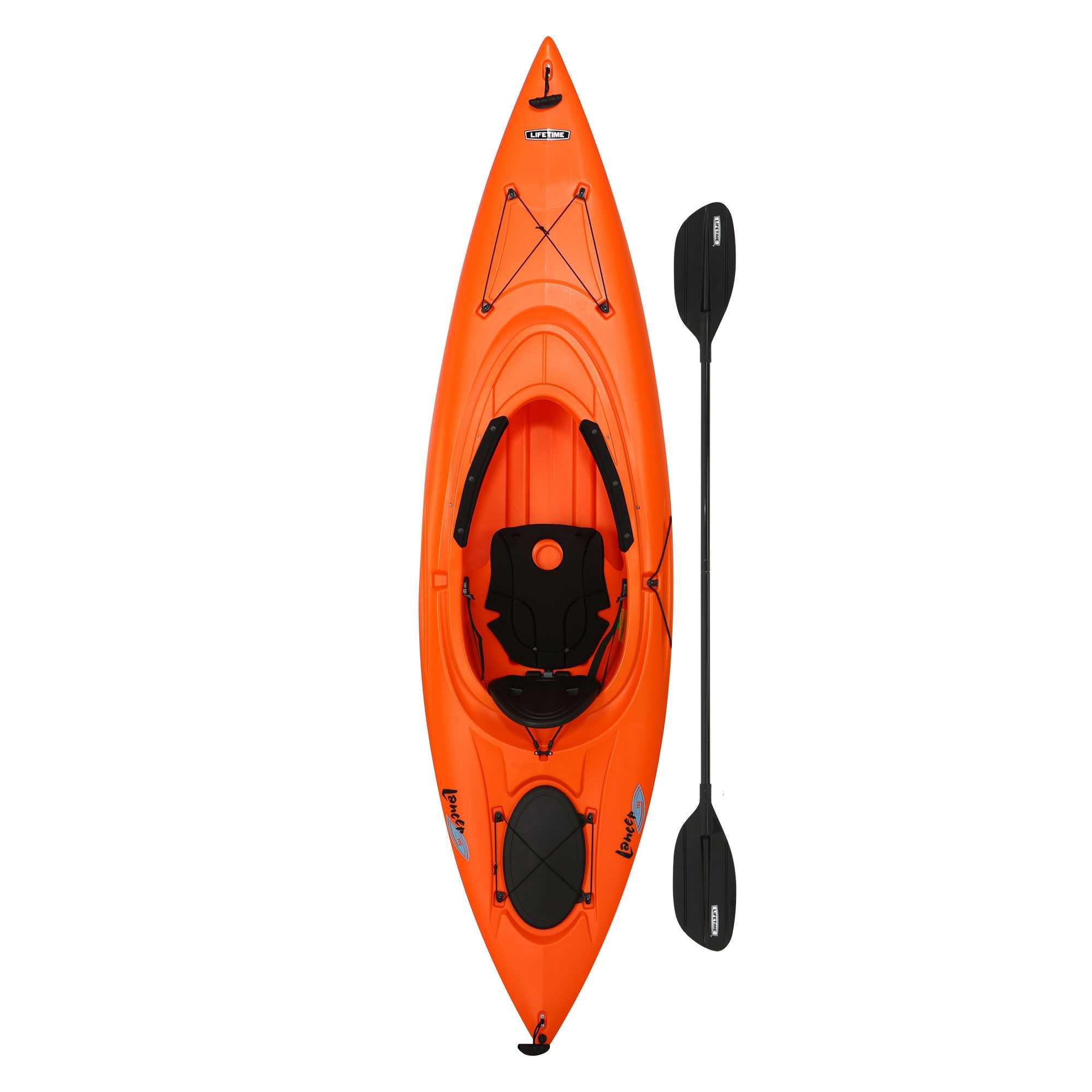 Lifetime Kayaks: Daylite 80 $164, Tahoma 100 $163, Lancer 100