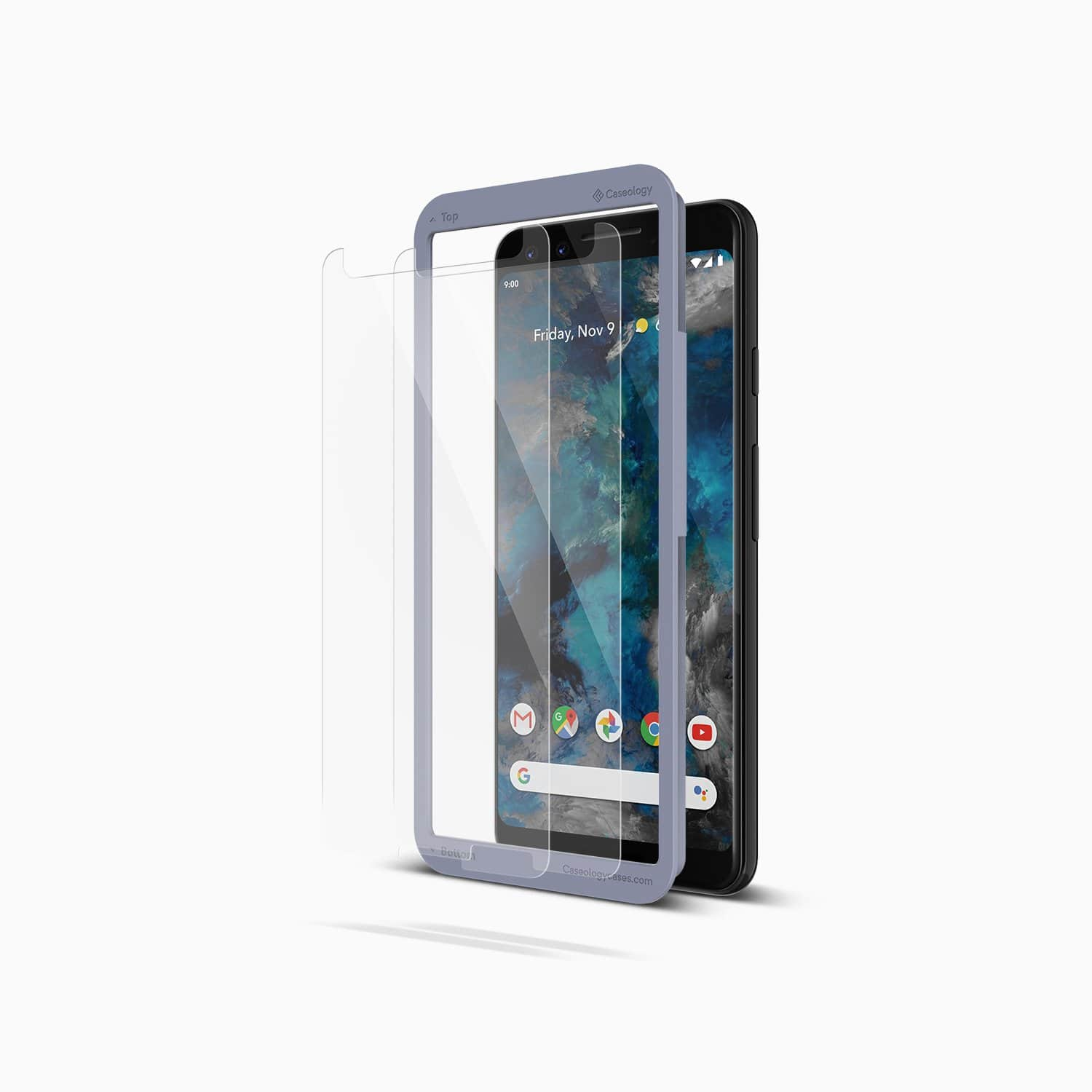 on sale 0a2bd 2ef07 2-Pk Caseology Tempered Glass Screen Protector for Google Pixel 3 ...