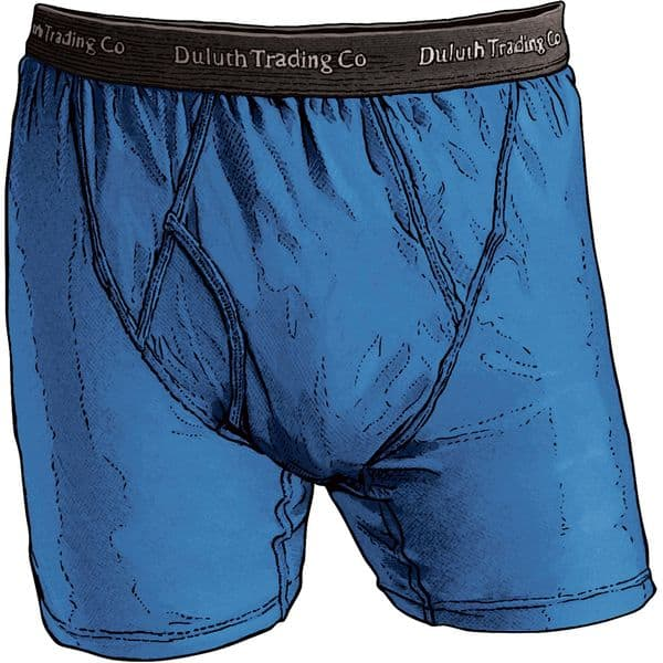 3ecfe4679 Duluth Trading Co. Men's Buck Naked Performance Boxers or Briefs ...
