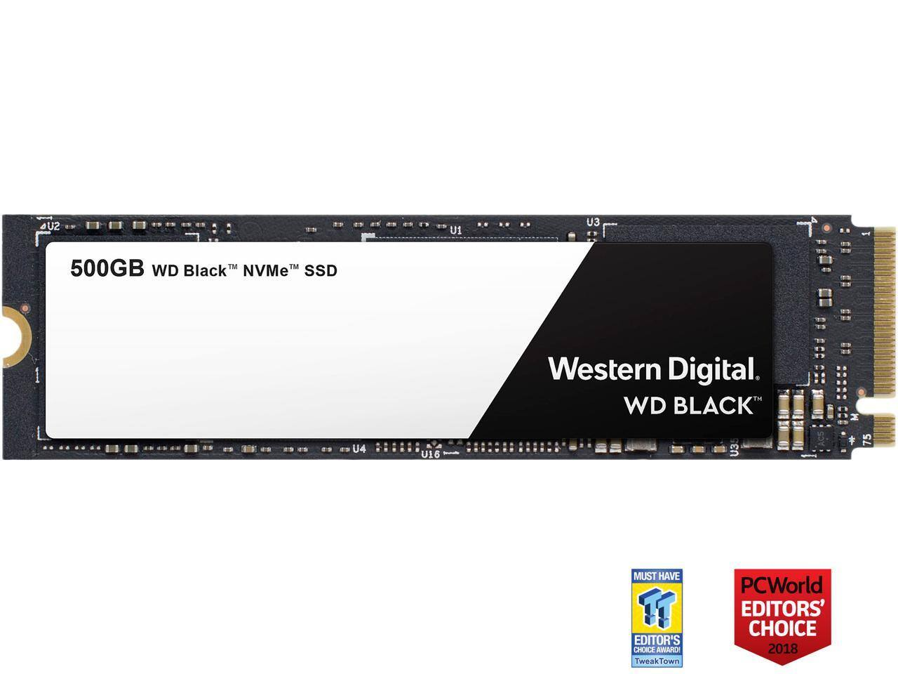 500GB WD Black PCIe NVMe M 2 Solid State Drive - Slickdeals net