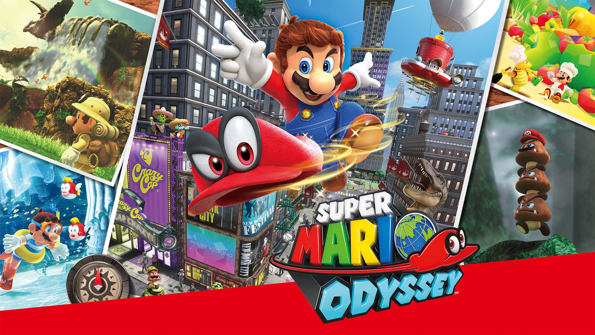 Nintendo Switch Digital Games Super Mario Odyssey Or Mario Kart 8