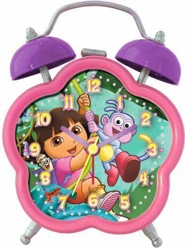 Nickelodeon Dora the Explorer Analog Quartz Alarm Clock $4.95 + Free Shipping