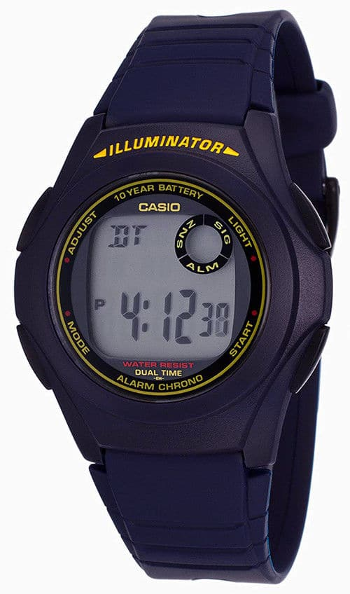 Casio Men's Illuminator Digital Watch w/ 10-Year Battery $8.87 + Free Shipping