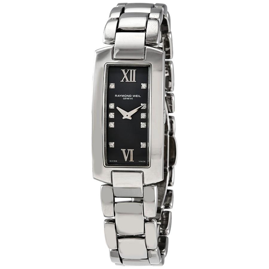Raymond Weil Shine Women's Watch (Black or Silver Dial) $300 + Free Shipping