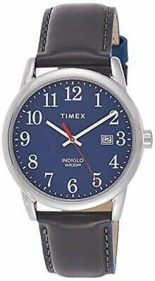 Timex Easy Reader Watch w/ Leather Strap: Women's $20 or Men's $25 + Free Shipping