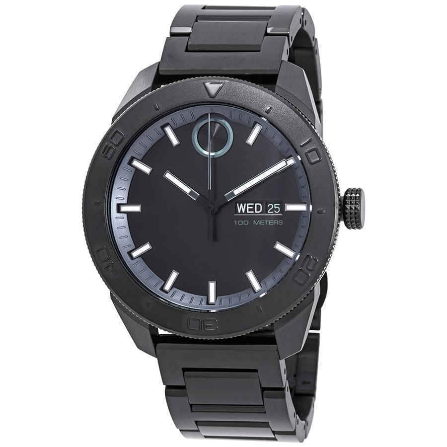 Movado Bold Men's Watch w/ Stainless Steel Bracelet $249 + Free Shipping