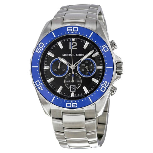 Michael Kors Men's Windward Chronograph Watch w/ Stainless Steel Bracelet $80 + Free Shipping