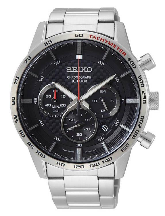 Seiko Men's Neo Chronograph Watch w/ Stainless Steel Bracelet $99 + Free Shipping