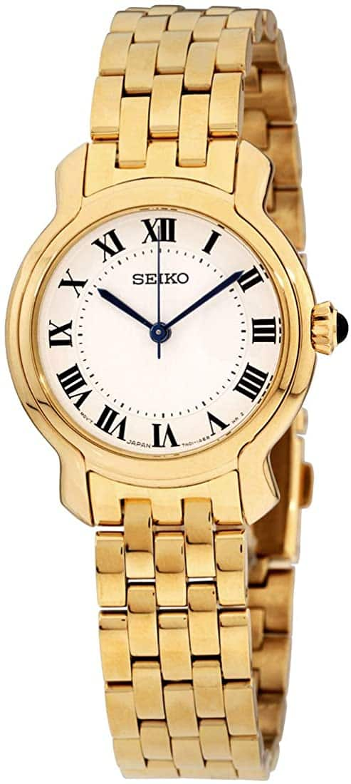 Seiko Women's Watch w/ Stainless Steel Bracelet $94.95 + Free Shipping