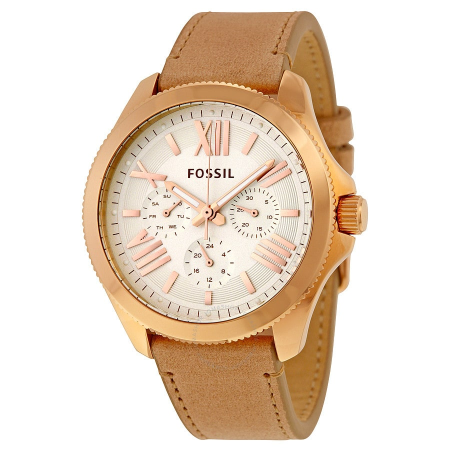 Fossil Women's Cecile Multi-Function Watch w/ Leather Strap $49.99 + Free Shipping