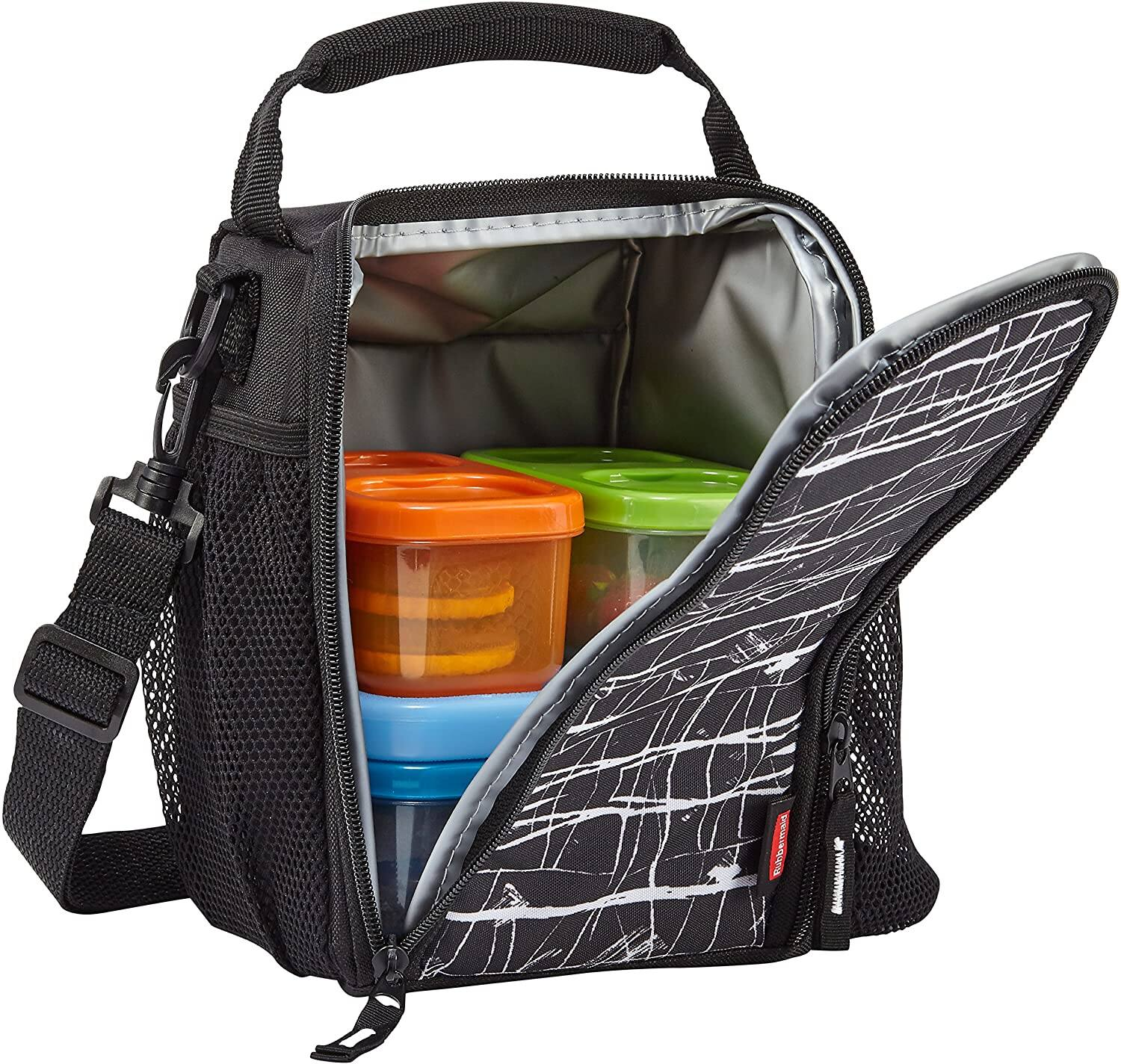 Rubbermaid LunchBlox Lunch Bag (Small, Black Etch) $5.08 + Free S&H w/ Prime or $25+