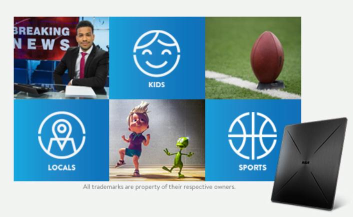 Existing Customer - Sling TV - Free HDTV Antenna