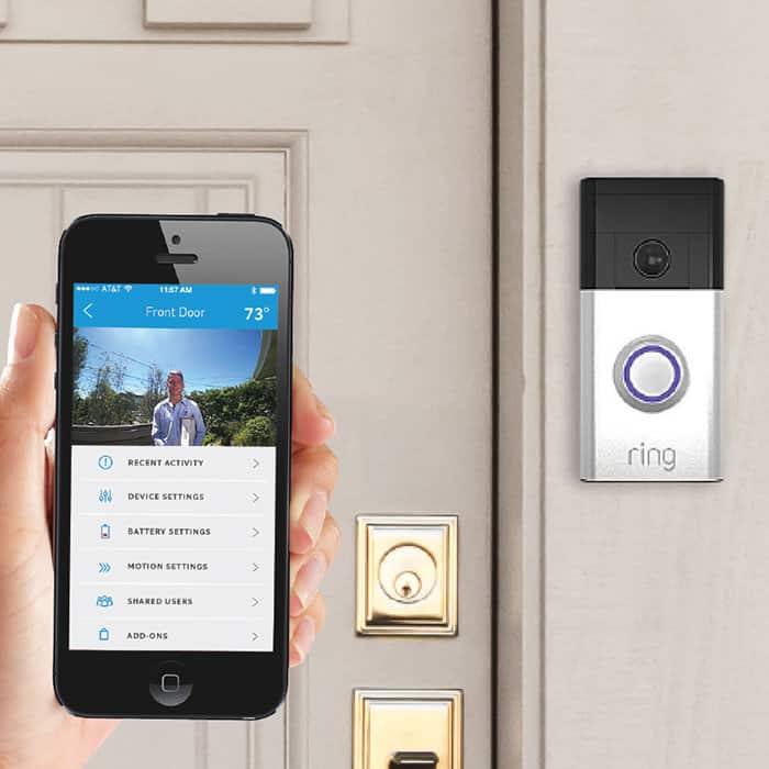 Ring Doorbell Camera - $157 instead of $200- Discover CashBack plus $15 off