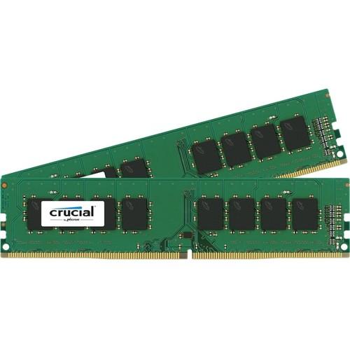 Crucial 16GB (2 x 8GB) DDR4 2133 MHz PC4-17000 UDIMM Memory Kit $149