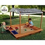 Kidkraft activity sandbox for 149.99 in Amazon best price with free shipping and pirate sandboat for $189.99 with free shipping for prime members