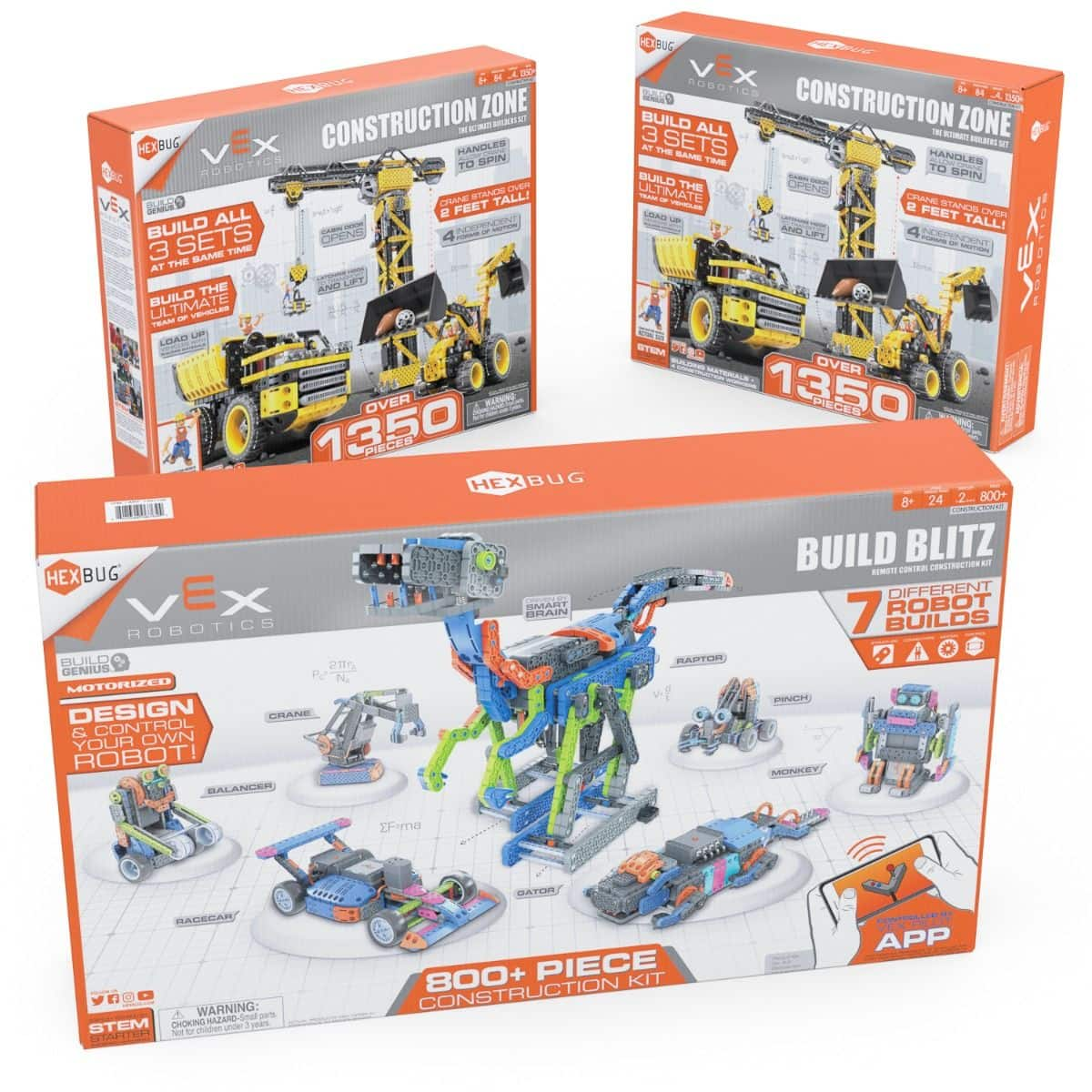Hexbug Hexmas deals - stem zone bundle