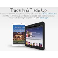 Barnes & Noble Deal: Samsung Galaxy Tab 4 Nook - $50 trade-in value for old Nook @ Barnes & Noble B&M stores