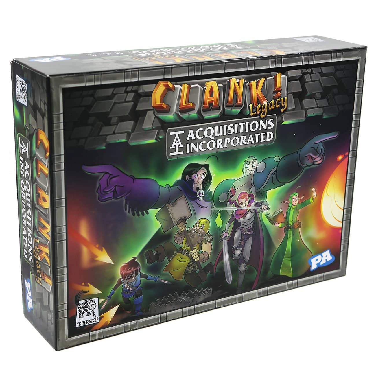 Clank! Legacy: Acquisitions Incorporated Board Game $50