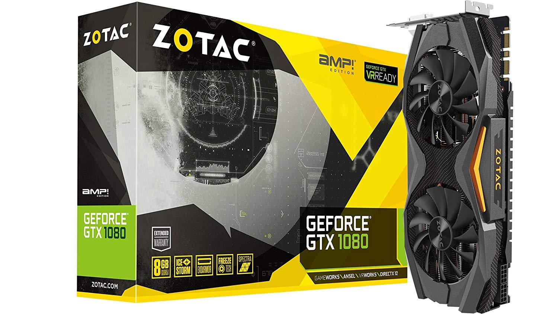 ZOTAC GeForce GTX 1080 AMP! Edition $490