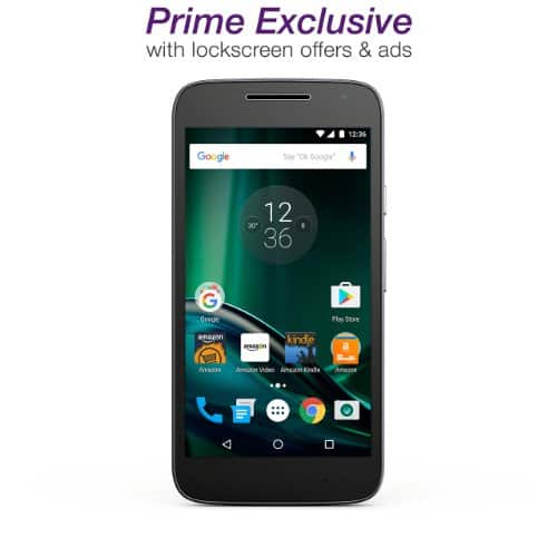 Amazon @ Moto G Play - Black - 16 GB - Unlocked for $99 for Prime members once available