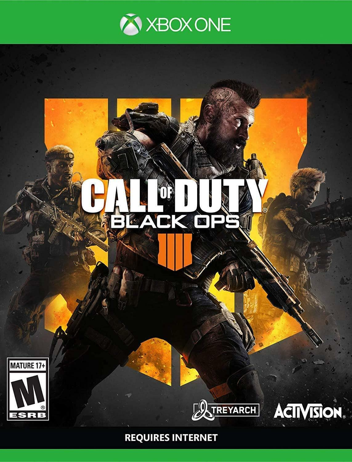 Call of Duty: Black Ops 4 - Xbox One Standard Edition by Activision $24.99