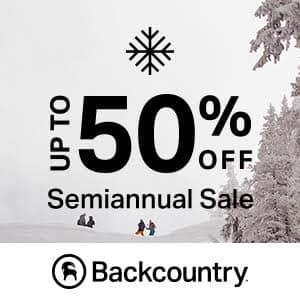 Backcountry Semi-Annual Sale up to 50% off