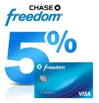 Chase Freedom Q3 categories for 5% cashback