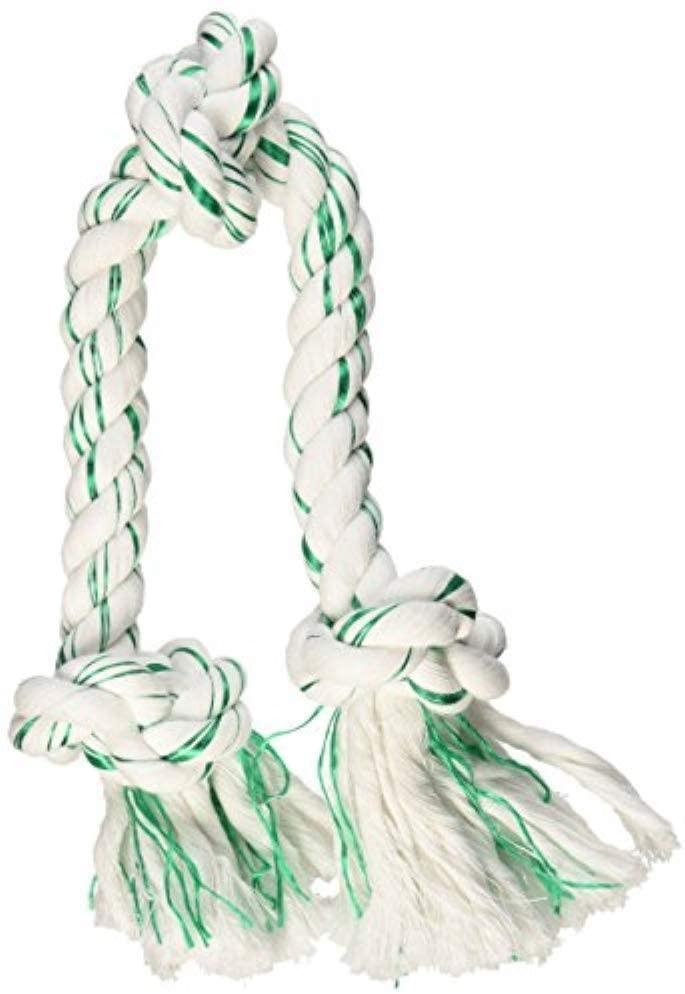 Large Booda Fresh N Floss Tug Rope Dog Toy [3-KNOT] $4.16