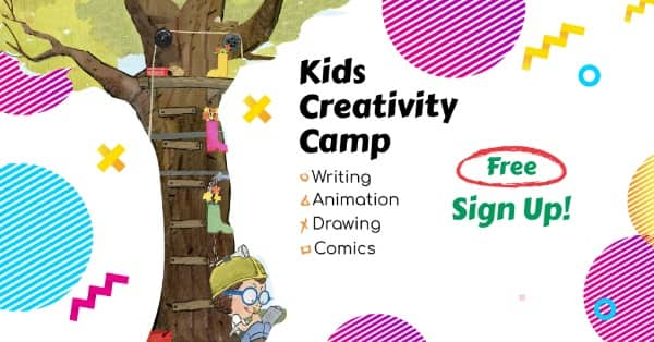 Free Week of Kid's Creativity Camp (Jun 22-26)