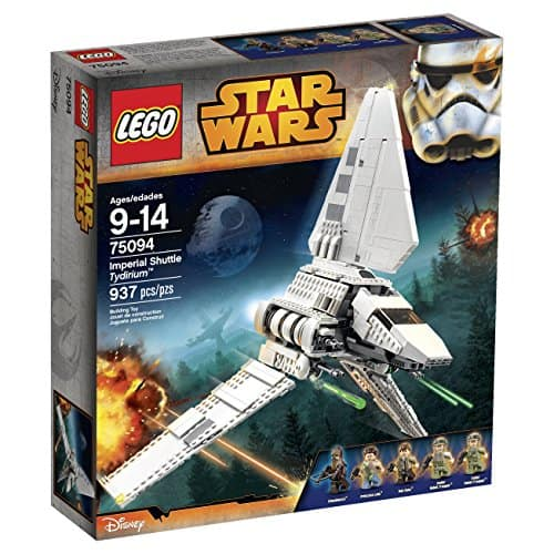 LEGO Star Wars Imperial Shuttle Tydirium 75094 Building Kit $75 + FS Amazon