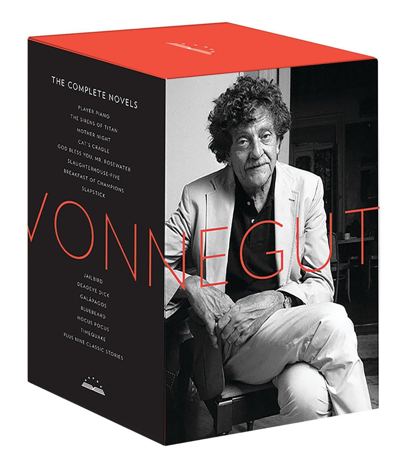 Kurt Vonnegut - Complete Novels hardcover boxed set $65.24 @ Amazon