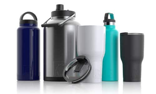 RTIC drinkwares 50% off on all tumblers, water bottles, jugs