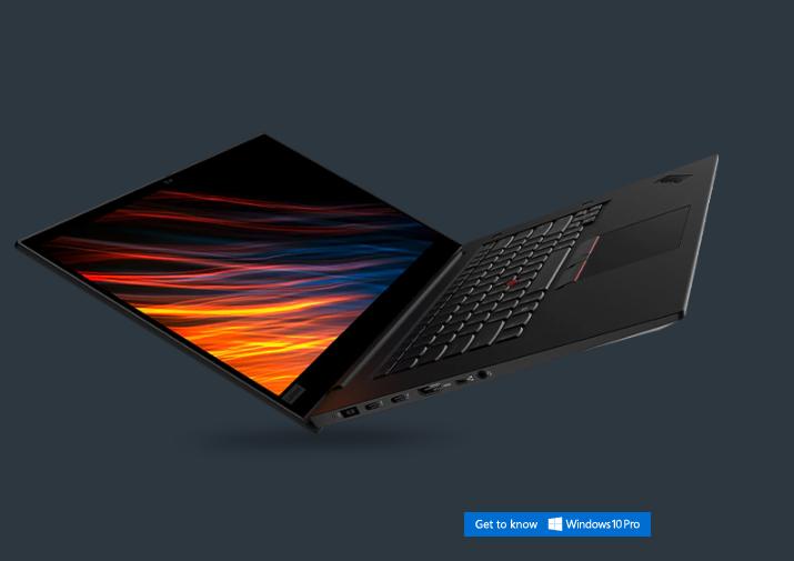 "Lenovo ThinkPad P1 Laptop: i7-9750H, 15.6"" 4K OLED, 32GB DDR4, 1TB SSD $1746 + Free Shipping"