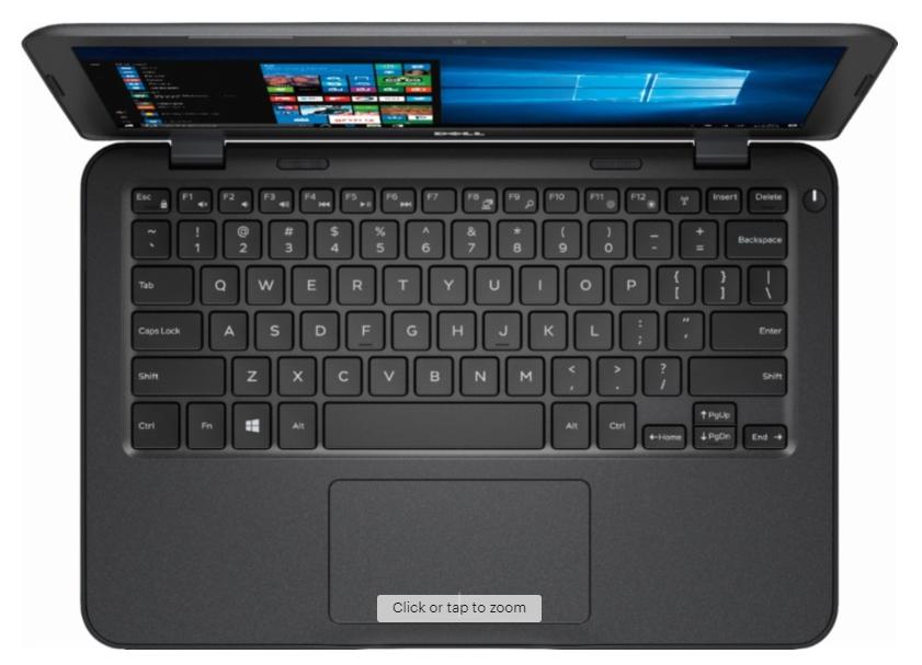 "Dell Inspiron 3180 11.6"" Windows 10 Laptop for $110 (via Google Express)"