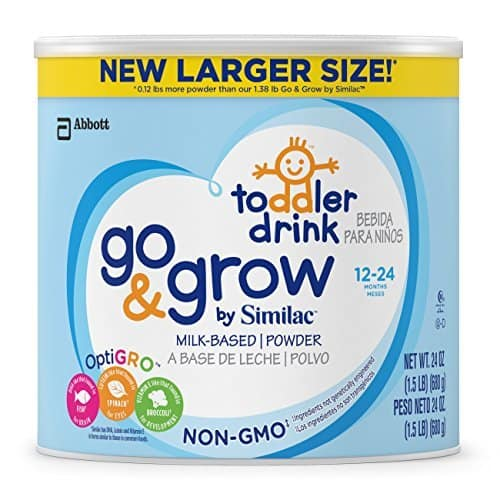 SIMILAC Go & Grow 1.5 lbs, Pack of 4: $65.92 (or less) S&S at AMAZON
