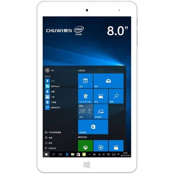 Chuwi Hi8 Pro 1920x1200 32GB Dual OS Win 10/Android Tablet $84 + Free Shipping