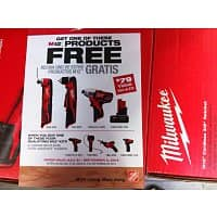 "Home Depot Deal: Milwaukee M12 ""Drill/Driver & Impact Driver combo"" $99 and more other options@Home Depot, B&M."