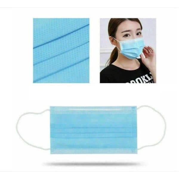 3 Ply Non-woven Disposable Face Mask - 10 Pack $9.99
