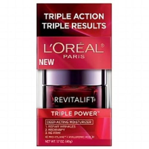 L'Oreal Paris Revitalift Triple Power Intensive Anti-Aging Moisturizer1.7oz $19.99