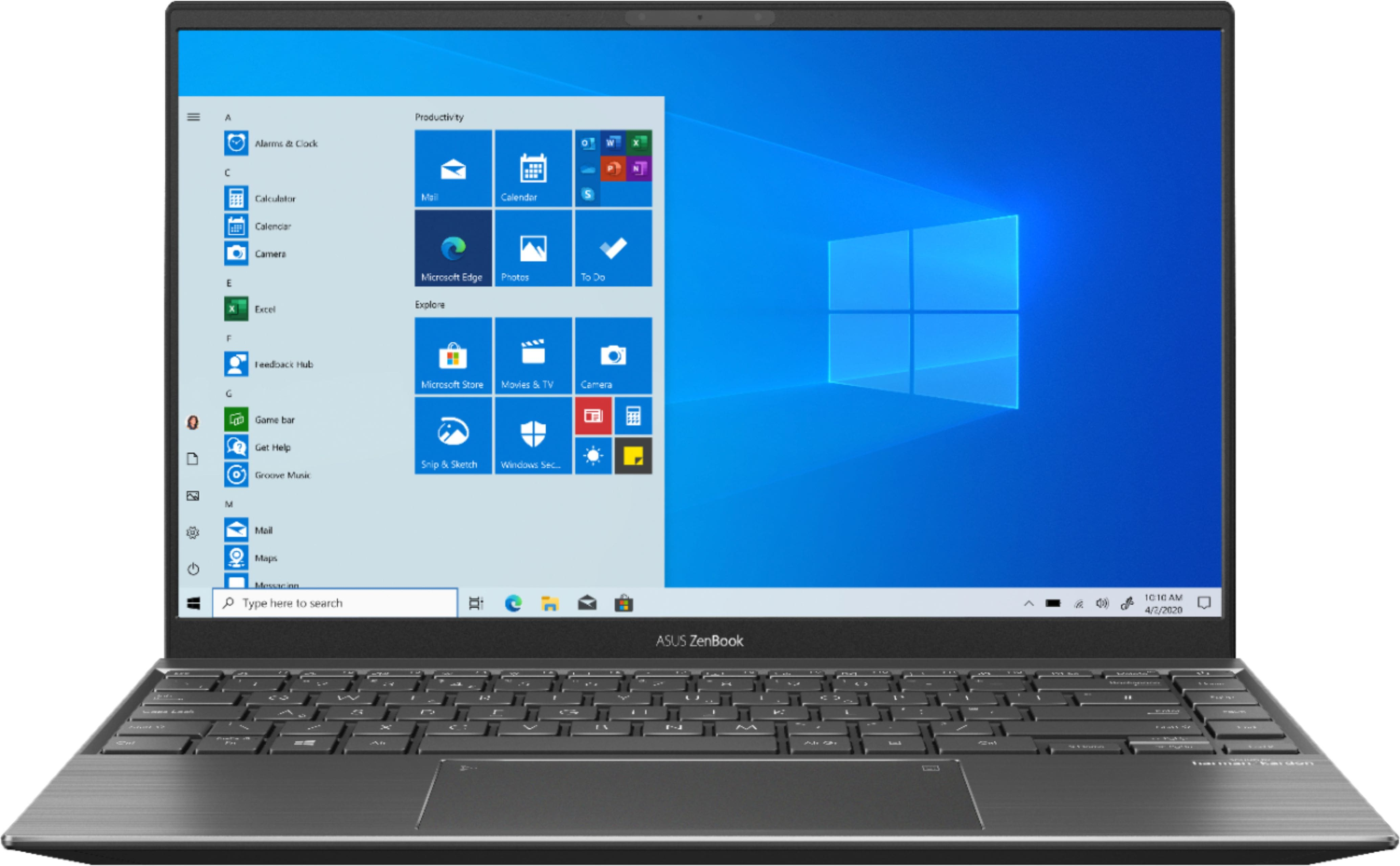 "ASUS Zenbook 14"" Laptop AMD Ryzen 5 8GB Memory NVIDIA GeForce MX450 256GB SSD Light Grey Q408UG-211.BL - Best Buy $569.99"