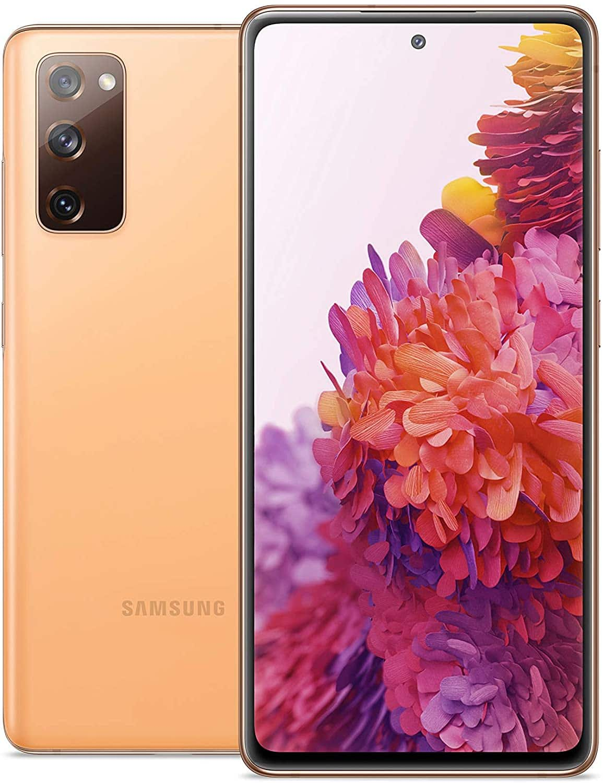 Amazon.com: SAMSUNG Galaxy S20 FE 5G Factory Unlocked Android Cell Phone 128GB US Version Smartphone Pro-Grade Camera 30X Space Zoom Night Mode, Cloud Orange