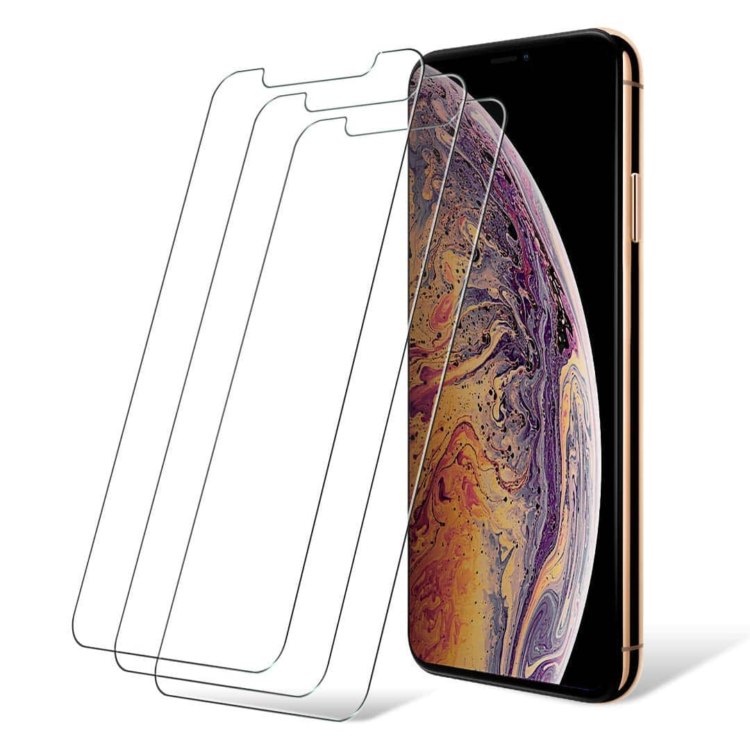 reputable site 337b9 59057 3 Pack Apple iPhone XR/XS Max Screen Protectors $2.97 or $3.20 ...
