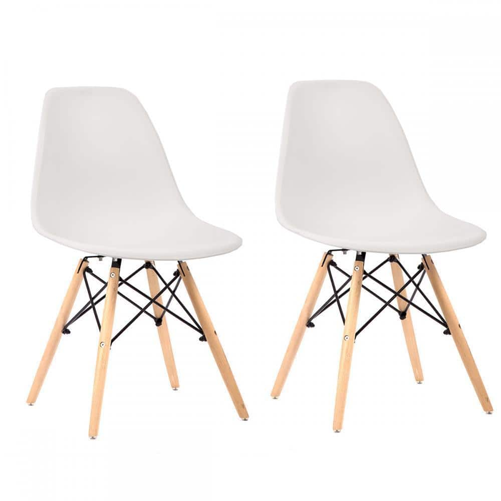 Mid Century Modern Eames Style Chair (Set of 2) - $47.99 + FS @ eBay