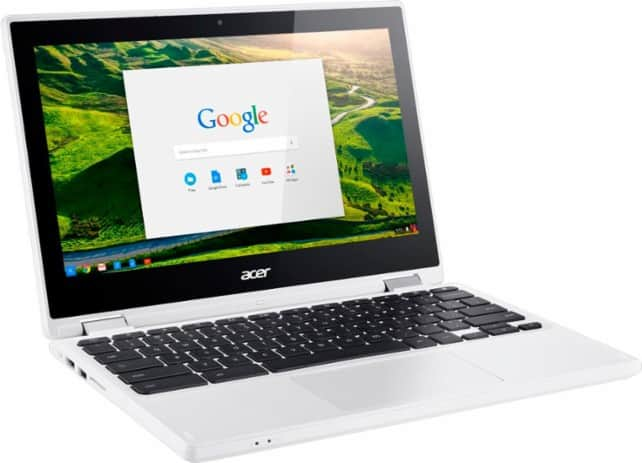 Acer R 11 2-in-1 11.6 inch Touch-Screen Chromebook - Intel Celeron - 4GB Memory - 32GB eMMC Flash Memory new $219 or refurbished $189.99