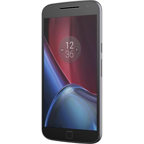 Motorola Moto G4 Plus XT1644 4th Gen. 64GB Smartphone (Unlocked, Black) $184.99