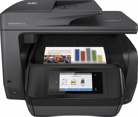 HP OfficeJet Pro 8720 Wireless All-In-One Color Printer $150 After Free $50 Best Buy or Amazon Gift Card + Free Shipping
