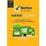 Norton Security w/ Backup 10 device for $35.50 from Amazon
