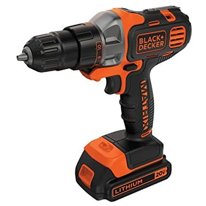 BLACK+DECKER Matrix Drill/Driver BDCDMT120C 20-Volt $31.75 + tax @ Walmart Store Pickup