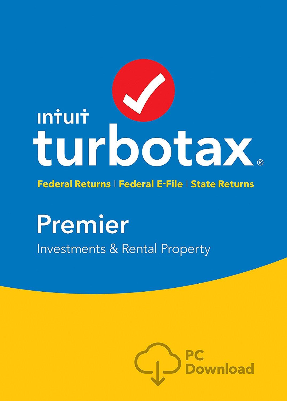 Intuit Turbotax PC Amazon Digital Sale - Premier $55 (eligible to redeem no rush credits) $54.86