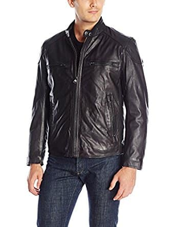 Amazon.com - Marc New York by Andrew Marc Men's Mac Calf-Leather Moto Jacket $109.85